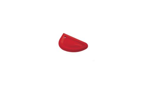 SILICONE SCRAPER, RED