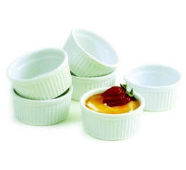 Norpro 4 Oz Porcelain Ramekins, 6 Piece s 261