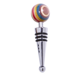 Norpro Colored Wood Bottle Stopper 5541