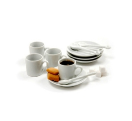 Norpro Demitasse Cups, 4 Piece  Set 5607