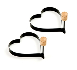 Norpro Heart Pancake/Egg Rings, 2 Piece s 980