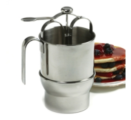 Norpro Jumbo Stainless Steel  Pancake Dispenser 3171