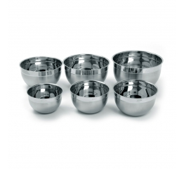 Norpro Krona 6 Piece Stainless Steel  Bowl Set 10447