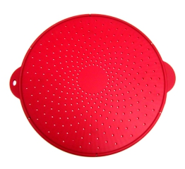 Norpro Large Silicone Splatter Screen, Red 2064