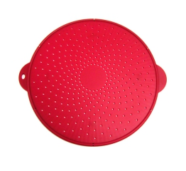 Norpro Medium Silicone Splatter Screen, Red 2065