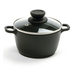 Norpro Nonstick 1Qt Mini Pot With Glass Lid 714