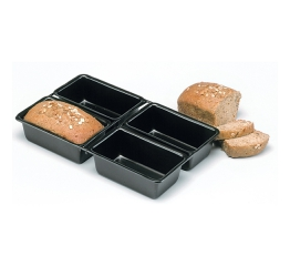 Norpro Nonstick 4 Pc Linking Loaf Pan 3946