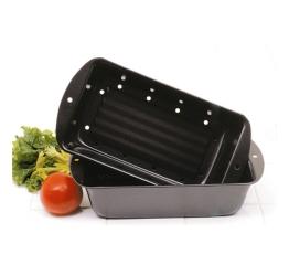 Norpro Nonstick Meat Loaf Pan/Bread Pan Set 4672