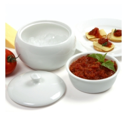 Norpro Porcelain Stay Cool/Warm Dip Server 295