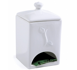 Norpro Porcelain Tea Bag Dispenser 5620