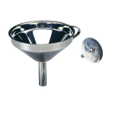 Norpro Stainless Steel  5 Funnel With Detachable Strainer 245