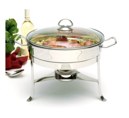 Norpro Stainless Steel  6Qt Chafing Dish W/Lid 3518