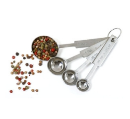 Norpro Stainless Steel  Measuring Spoons, 4Piece set 3049