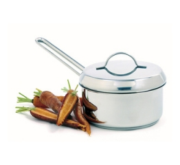 Norpro Stainless Steel  Mini Sauce Pot W/Lid 612