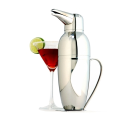 Norpro Stainless Steel  Penguin Cocktail Shaker 445