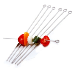 Norpro Stainless Steel  Skewers 14, 6 Piece s 1934