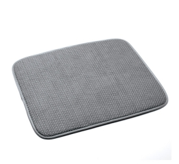 359g DISH DRYING MAT - GREY