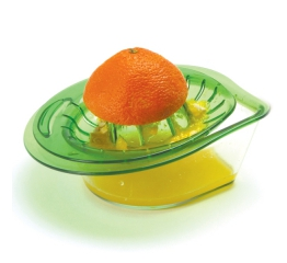 CITRUS JUICER WITH TRAY, GREEN