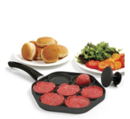 SLIDERS/MINI BURGERS GRILL PAN & PRESS