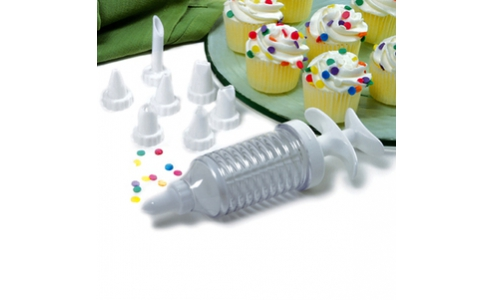 Norpro 9 Piece  CuPiece ake Injector/Decorating Icing Set 3566