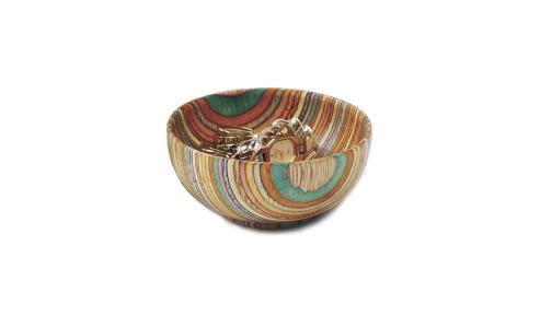 Norpro Colored Wood Bowl, 4 Oz 5557
