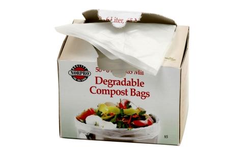 Norpro Degradable Compost Bags, 50 Pieces 85