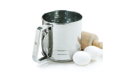 Norpro Flour Sifter Stainless Steel  3 Cup 138