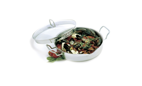 Norpro Krona Stainless Steel  4Qt Everything Pan With Straining Lid 671