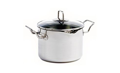 Norpro Krona Stainless Steel  7.5Qt Vented Pot With Straining Lid 660