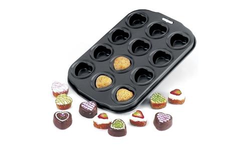 Norpro Non-Stick  Petite Heart Muffin/Cake Pan 3992