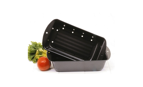 Norpro Nonstick Meat Loaf Pan/Bread Pan Set 4672