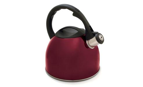 Norpro Red Tea Kettle, 2.6L 5624