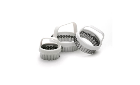 Norpro Scallop Biscuit Cutter Set Of 3 3490