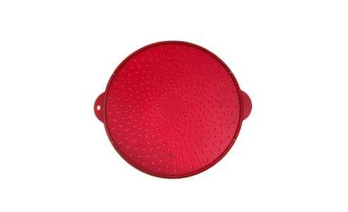 Norpro Small Silicone Splatter Screen, Red 2069