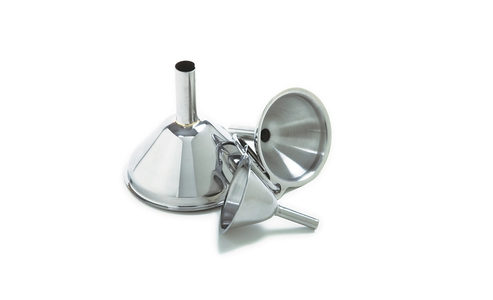 Norpro Stainless Steel  Funnels, 3 Piece  Set 252