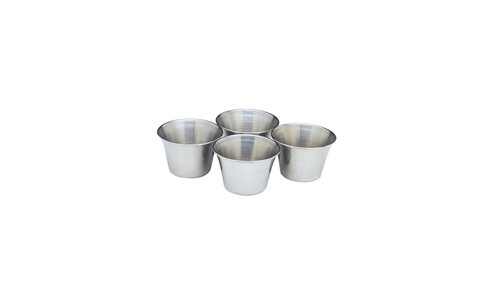 Norpro Stainless Steel  Sauce/Butter Cups, 4 Piece s 208