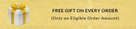 Free Gift on Every Order