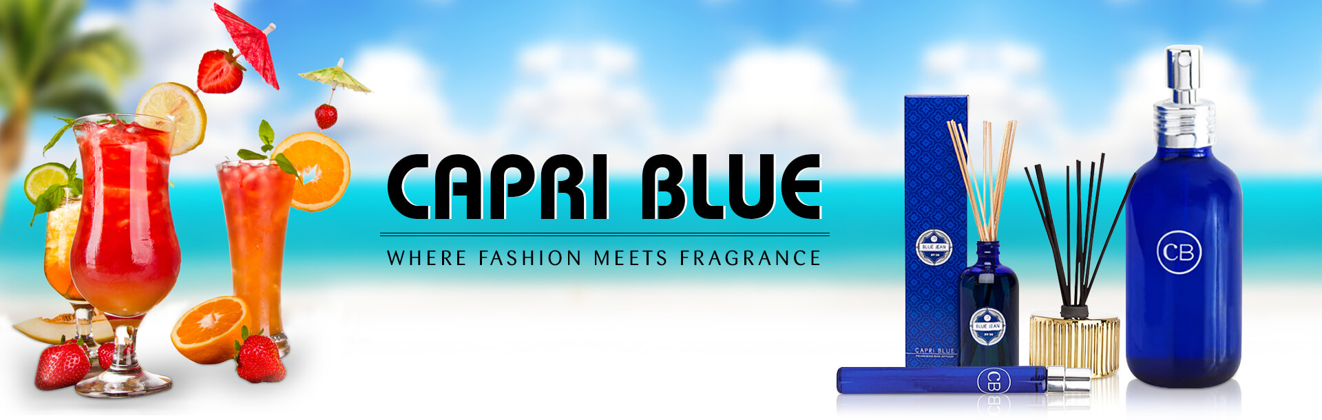 Capri Blue Collection