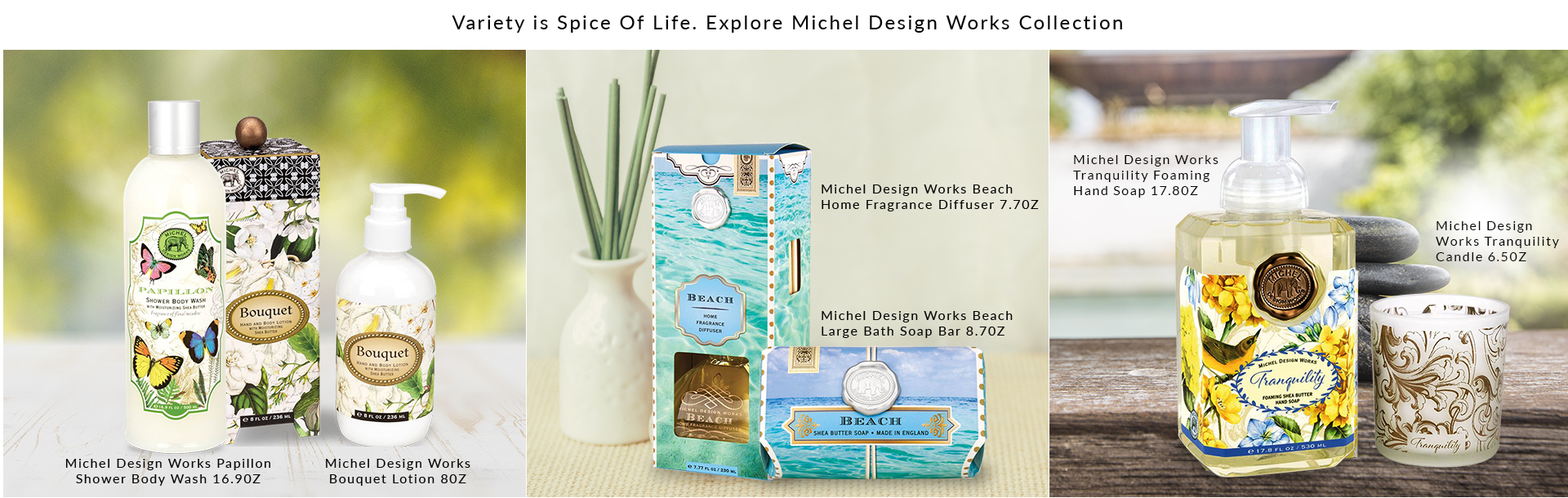 Michel Design Works Collection
